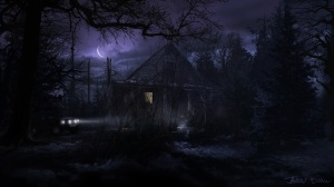 scary cabin